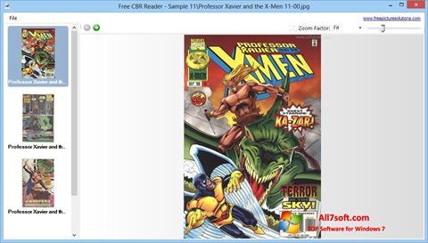 Screenshot CBR Reader untuk Windows 7