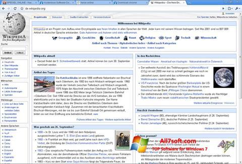 Screenshot SRWare Iron untuk Windows 7