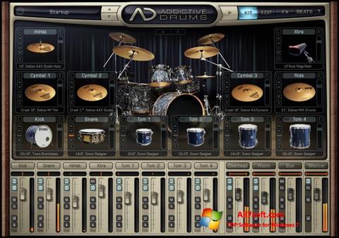 Screenshot Addictive Drums untuk Windows 7