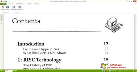 Screenshot Hamster PDF Reader untuk Windows 7