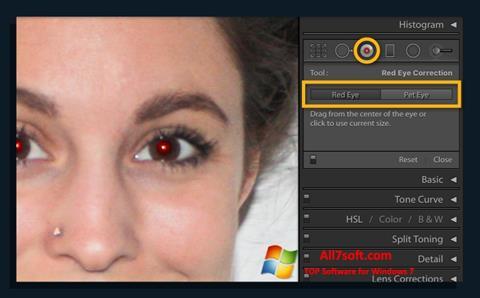 Screenshot Red Eye Remover untuk Windows 7