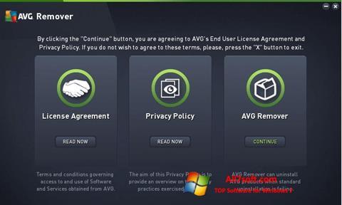 Screenshot AVG Remover untuk Windows 7
