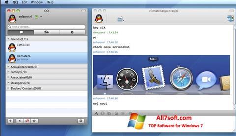 Screenshot QQ International untuk Windows 7