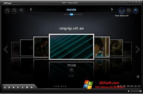 Screenshot KMPlayer untuk Windows 7