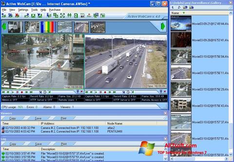 Screenshot Active WebCam untuk Windows 7