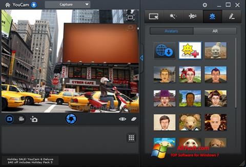 Screenshot CyberLink YouCam untuk Windows 7